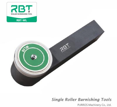 RBT Single Roller Outer Diameter Burnishing Tools, Outside Surface Single Roller Burnishing Tool