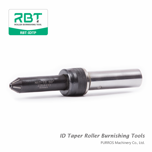 Angular roller burnishing tools are designed to burnish conical sections with uniform tapers which are symmetrical with the axis of the workpiece. These surfaces are generally sealing surfaces, and require high quality finishes to control leakage. Roller burnishing of conical surfaces is much faster and less expensive than grinding and honning, and eliminates problems with embedded abrasive which can wear out the sealing element. Typical sealing surfaces in parts include: face seats, angular or tapered seats of internal or external construction.